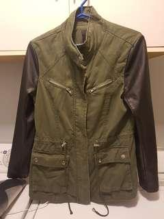 Army Green Cargo Jacket