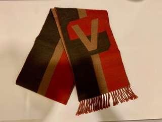 LV Louis Vuitton cashmere wool scarf