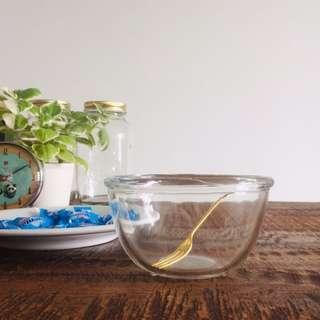 RARE Vintage JAJ/Pyrex Glass Pudding Bowl