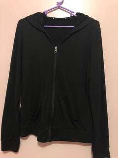 Preloved Black Cotton Jacket