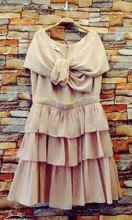 🚚 鴿子粉色蛋糕洋裝