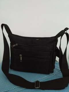 BN Neve nylon sling black bag
