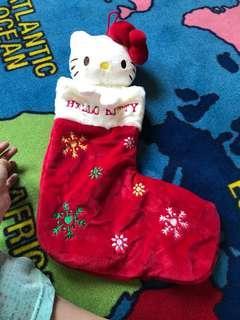 Hello Kitty Christmas Sock