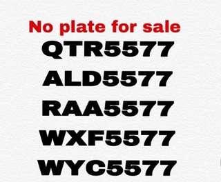 No plate nice
