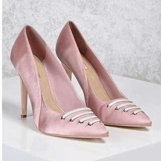 Forever 21 Satin Pink High Heels