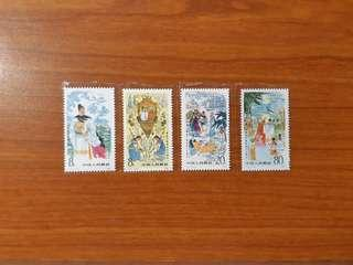 China 1985 J113 Zheng He's West Seas Expedition 580th Anniversary Stamps