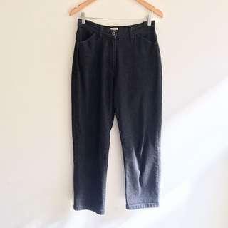 Vintage Black Mum Jeans