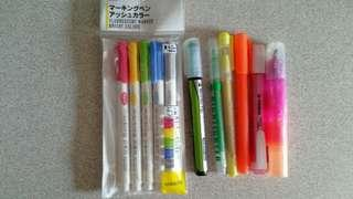 Assorted Colourful Highlighters