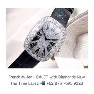Franck Muller - GALET with Diamonds Setting (New in Box)