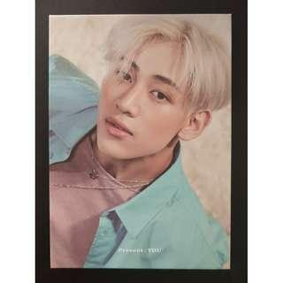 GOT7 Present:YOU Bambam Photobook with Youngjae Cover Sleeve