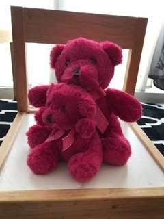 Lovely Lace Pink Teddy Bear