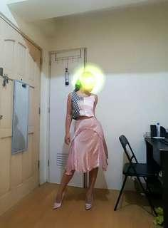 Set: Top skirt and shoes