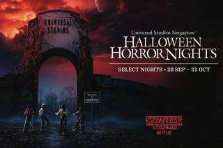 Halloween Horror Night 8 Ticket <reserved>