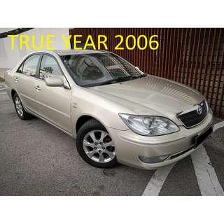 2006 Toyota CAMRY 2.4 V BLIST ALSO CAN LOAN