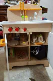 🚚 Hape木製辦家家酒玩具