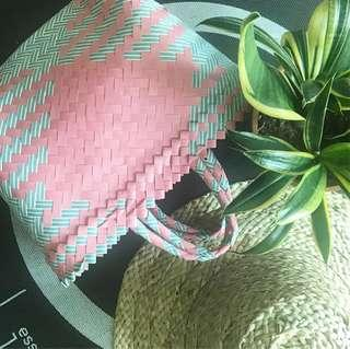 🚚 Handwoven plastik handcarry bag super small size