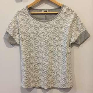 SEED LACE TOP/BLOUSE/WOMEN #OCT10