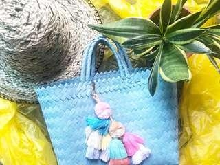 🚚 Handmade handwoven plastik bag size S