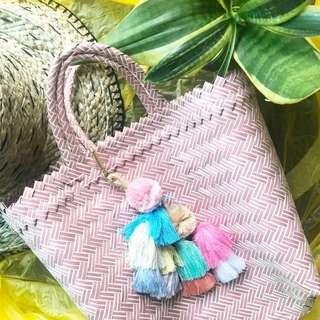 🚚 Straw Bag handwoven small size