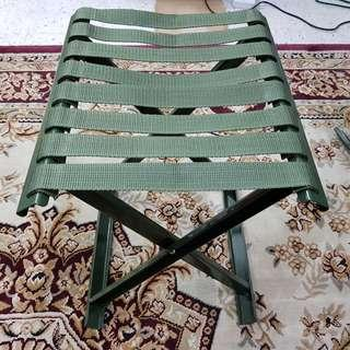 Large Military Army Style Portable Folding Chair ( Can hold up to 150kg )