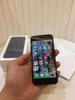 Iphone 7 128Gb Jetblack Mulus Fullset