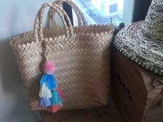 🚚 Handwoven plastik bag