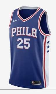 Ben Simmons NBA Jersey