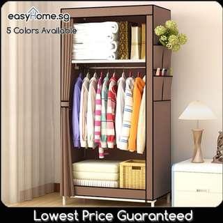 🚚 Wardrobe GY70 - Closet Hanger Clothes Rack Storage Shelves