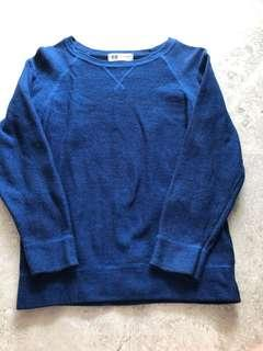 H&M knitted long sleeve top
