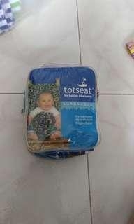 Totseat for babies who lunch (cloth highchair)