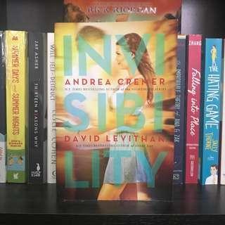 Invisibility - Andrea Cremer & David Levithan