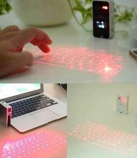 🚚 雷射投影虛擬鍵盤