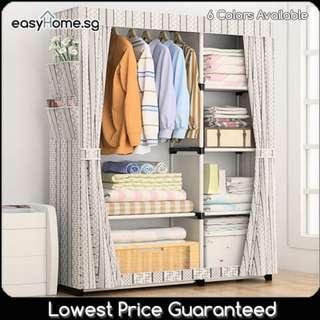 🚚 Wardrobe GY18 - Closet Hanger Clothes Rack Storage Shelves