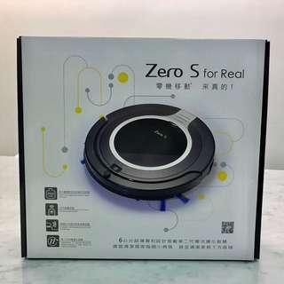 Zero-S智慧偵測超薄型吸塵器機器人