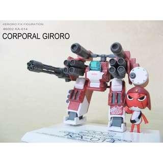 Keroro Fix Figuration #6002 Giroro Gocho KA-014【日版】軍曹 伍長  @KAZOEshop