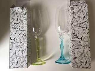 Kosta Boda家用高脚香槟酒杯