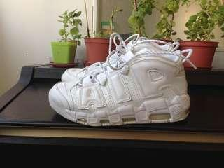 Nike More Uptempo Triple White
