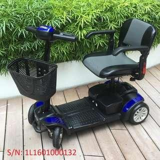 Refurbished Spitfire 4-Wheel Mobility Scooter c/w 6 months WARRANTY!