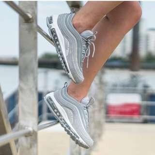 [NEW] Nike Air Max 97 Grey Glitter