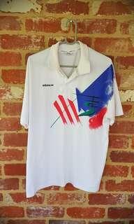 RARE 1990 Adidas Polo Made In Australia M