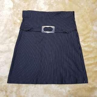 bottom - stripes skirt