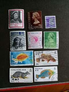 香港郵票 香港回歸前已銷郵票 H001