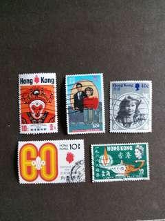 香港郵票 香港回歸前已銷郵票 H002