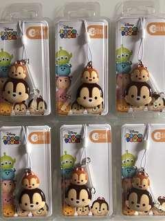Brand new Disney Tsum Tsum Chip and Dale Ezlink Charm for sale .