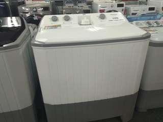 Mesin cuci panasonic 12kg bisa dikredit dengan dp200rb bunga 0%