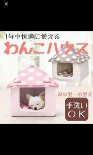 😸Iris 貓狗寵物棉床+屋仔