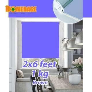 Homebase Blackout Roller Blind (70cmx80)*Purple