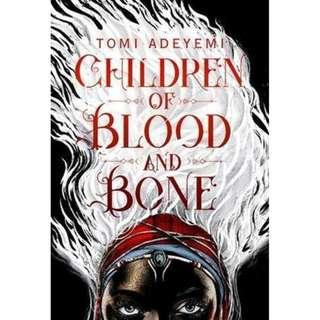 NEW Children of Blood and Bone By Tomi Adeyemi