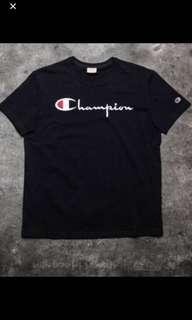 Champion Embroided T shirt