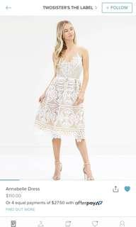 BNWT TwoSisters the Label lace dress